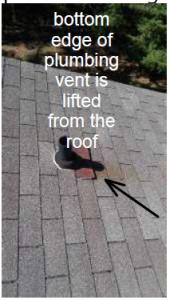 plumbing vent - roof boot